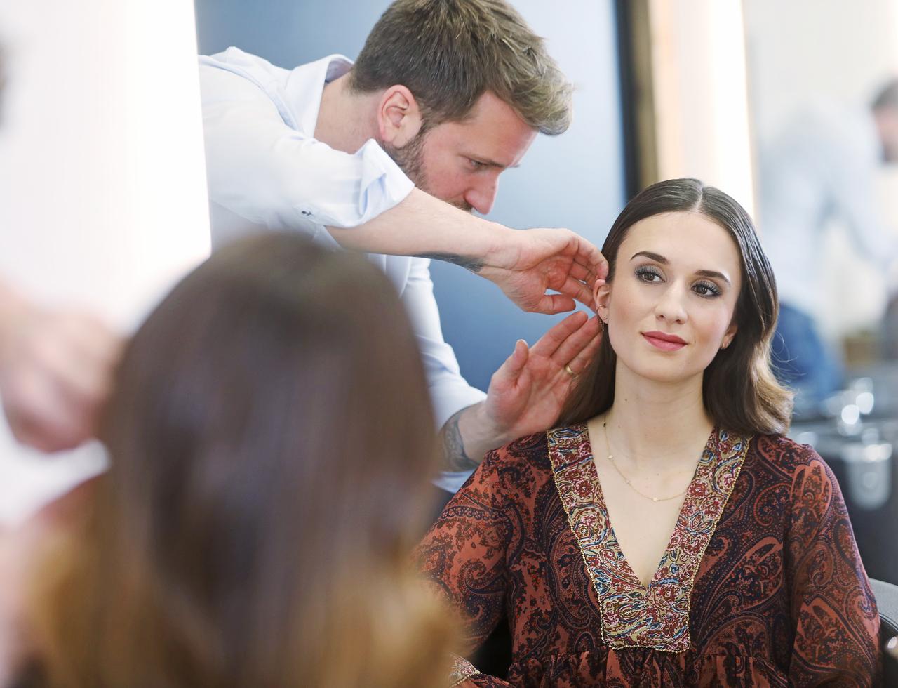 festtagslooks für haare und make-up